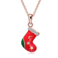 Show details for Holiday Simple Pendant Necklaces 3LK053865N