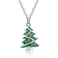 Show details for Zinc Alloy Small Pendant Necklaces 3LK053877N