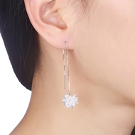 Picture of  Holiday Simple Dangle Earrings 3LK053883E