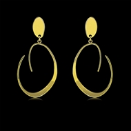 Picture of Origninal Casual Gold Plated Dangle Earrings