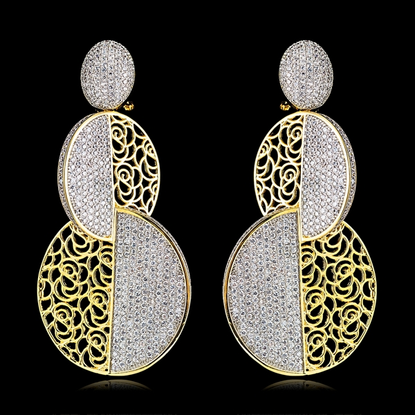 Picture of Latest Big Casual Dangle Earrings