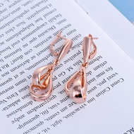 Picture of Classic Rose Gold Plated Dangle Earrings with Fast Delivery