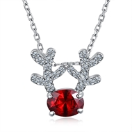 Show details for Fashion Platinum Plated Pendant Necklace with Fast Delivery
