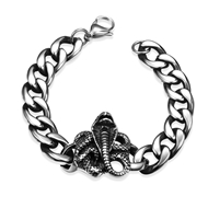Picture of Great Value Oxide Stainless Steel Fashion Bracelet with Member Discount