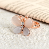 Picture of Latest Small Opal (Imitation) Fashion Rings