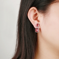 Picture of Irresistible White Copper or Brass Dangle Earrings As a Gift