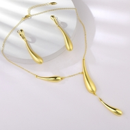 Picture of Zinc Alloy Gold Plated 2 Piece Jewelry Set in Flattering Style