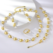 Picture of Dubai Gold Plated 4 Piece Jewelry Set with 3~7 Day Delivery
