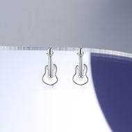 Picture of Beautiful Small 925 Sterling Silver Stud Earrings