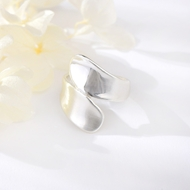 Picture of The Biggest Stock For  Platinum Plated Zinc-Alloy Fashion Rings